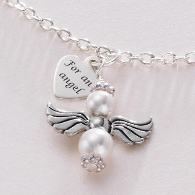 For an Angel Necklace | Someone Remembered